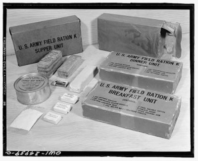 K ration early 1942, complete