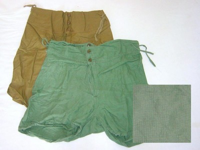 shorts with enlargement
