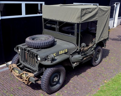 usmc amb jeep canvas top 1