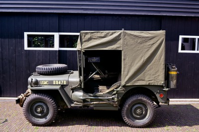 usmc amb jeep canvas top 2