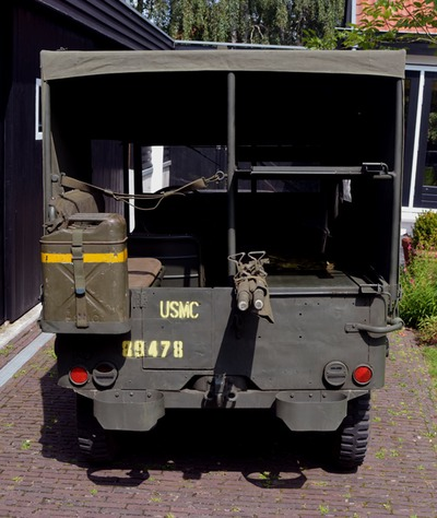 usmc amb jeep canvas top 4